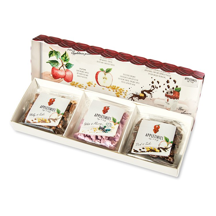 Beautiful Apple Chocolate Gift Box