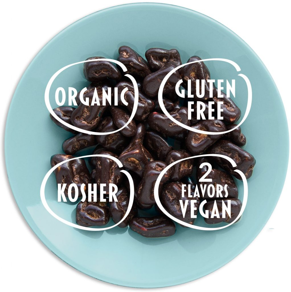 Appletinies chocolate sweets: organic, gluten-free, kosher, 2 flavors vegan